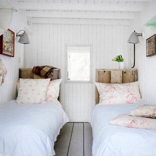 Идея дизайна: спальня в стиле шебби-шик