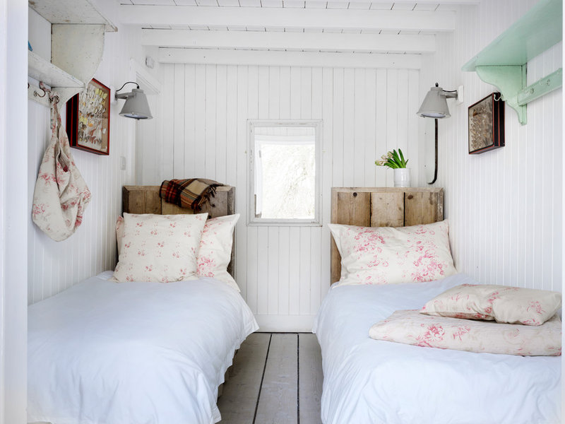 Beach Style Bedroom by Cabbages  Roses Ltd