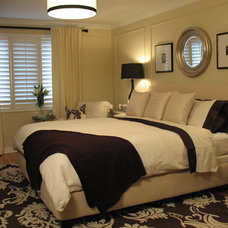 Contemporary Bedroom by Stacy McLennan Interiors
