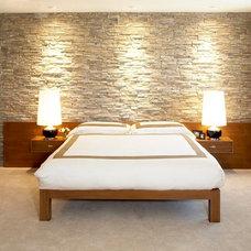 Midcentury Bedroom by Lori Dennis, ASID, LEED AP