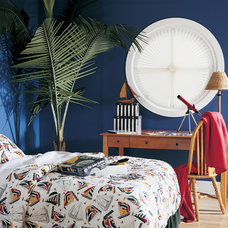 Tropical Bedroom by Lisa Scheff Designs