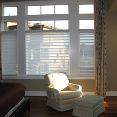 Contemporary Bedroom by Anchor Blinds