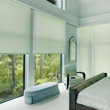 window treatment kiawah, charleston motorized shade