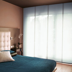 Window Treatments Sliding Panels Are The Perfect