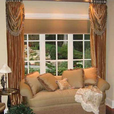 Traditional Bedroom by Window Dressings