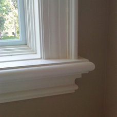 Traditional Bedroom Window Trim detail