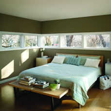 Contemporary Bedroom by Lindus Construction/Midwest LeafGuard