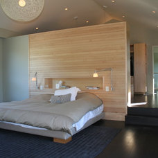 Contemporary Bedroom by Lorin Hill, Architect