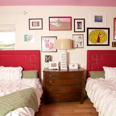 Eclectic Bedroom by Savvy Interiors
