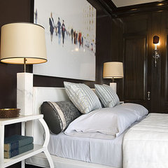 contemporary bedroom by huntley & co