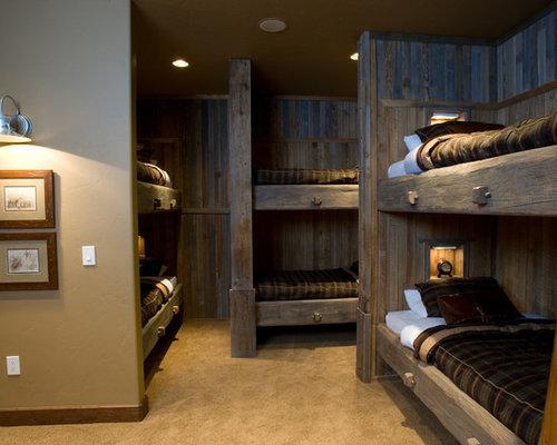 Elegant guest bedroom photo in Denver