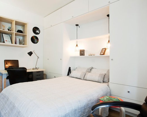 modern bedroom design ideas, remodels  photos  houzz, Bedroom decor