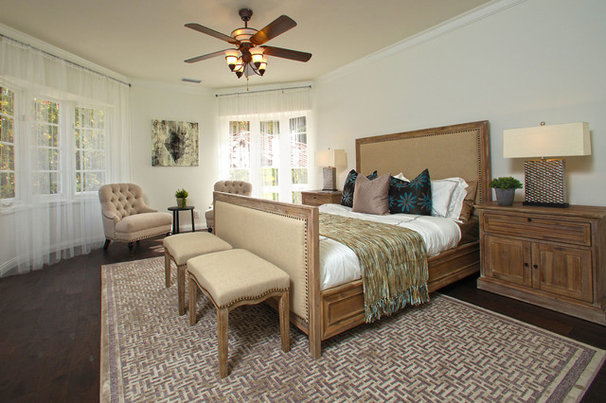 Traditional Bedroom by Bowery Interior Architecture