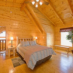 Cedarview Residence Rustic Bedroom Other By Locati