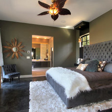 Contemporary Bedroom by Rock House Style