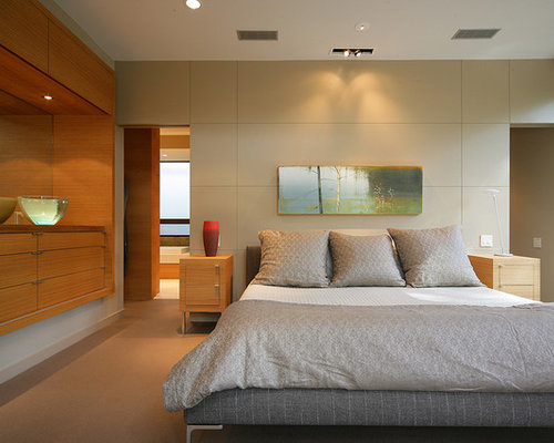 Serene bedroom houzz for Korean bedroom design