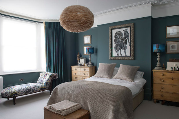 Eclectic Bedroom by Nicola Hicks Designs