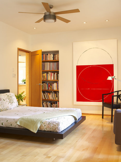 Book lovers bedroom home design ideas pictures remodel for Book bedroom ideas