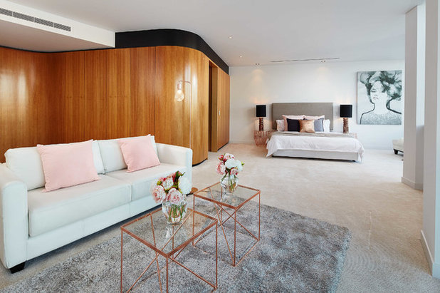Contemporary Bedroom by Perth Style Co.