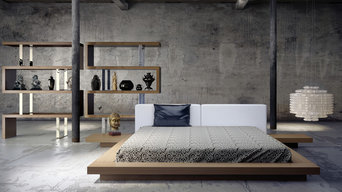 Worth Contemporary & Modern Bed by ModLoft