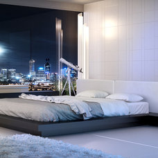 Contemporary Bedroom by Cressina