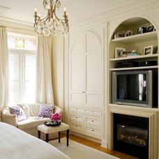 Transitional Bedroom by McGill Design Group Inc.