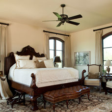 Traditional Bedroom by Pyramid Builders