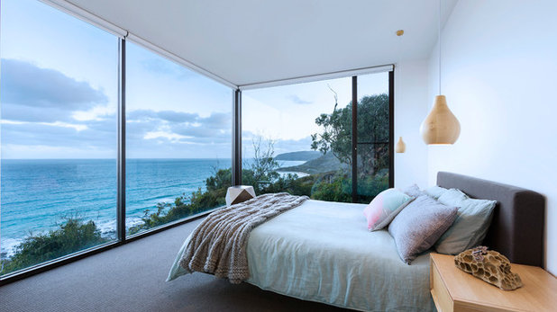 Contemporary Bedroom by John Wheatley UA Creative