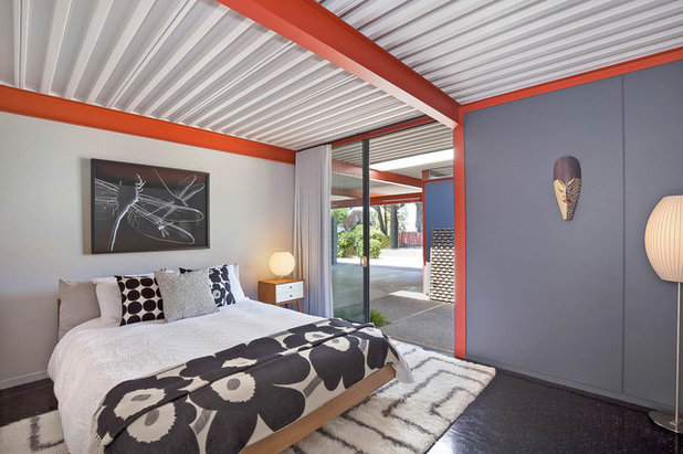 Midcentury Bedroom by Sabrina Huang Photography + Video Production