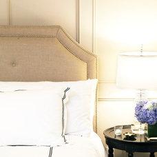 Contemporary Bedroom by Nadia Geller Designs