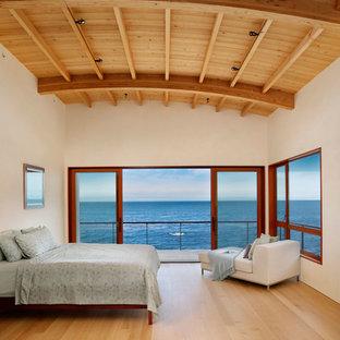 Modernes Schlafzimmer in New York