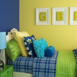 Traditional bedroom in Grand Rapids.