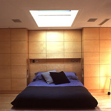 Contemporary Bedroom Yeoman's Row - Complete interior redesign and interior designers -SHH is a chart