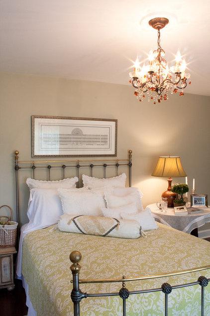 Traditional Bedroom by Meredith L. Bohn Interior Design