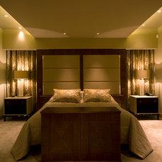 Modern Bedroom by Brilliant Lighting