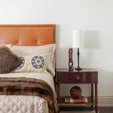 Transitional Bedroom by PRINCIPLES DESIGN STUDIO INC