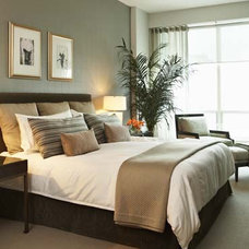 Contemporary Bedroom by Robyn Clarke + Co