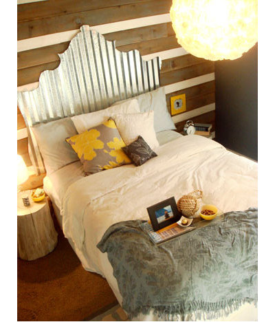 Eclectic Bedroom by Young House Love