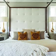 Contemporary Bedroom by Cortney Bishop Design