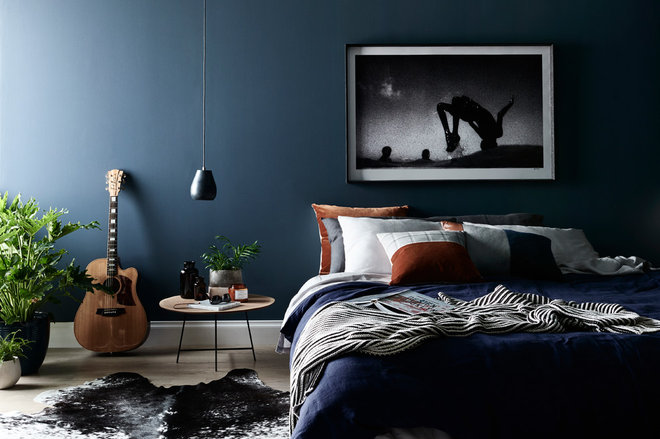 Contemporary Bedroom by Nathan + Jac
