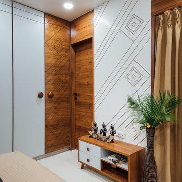 Bedroom - Zanzmera's Residence