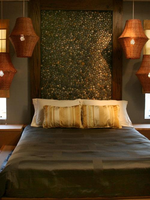 Inspiration for a zen bedroom remodel
