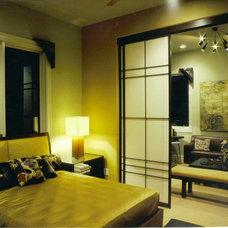 Contemporary Bedroom by Patrick Landrum Design