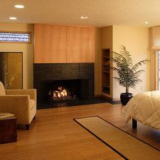 Contemporary Bedroom by Olson & Jones