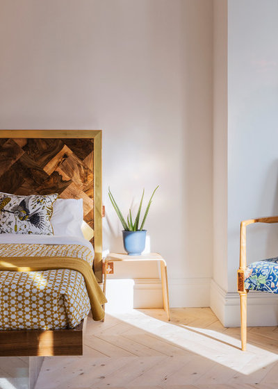 Transitional Bedroom by Ecospheric