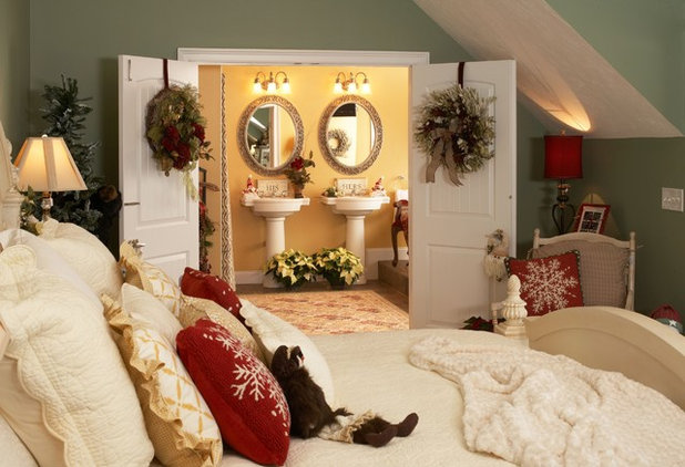 Traditional Bedroom by Lori Currier Interiors