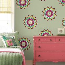 Bedroom by WallPops