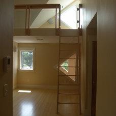 Contemporary Bedroom by EvB Design