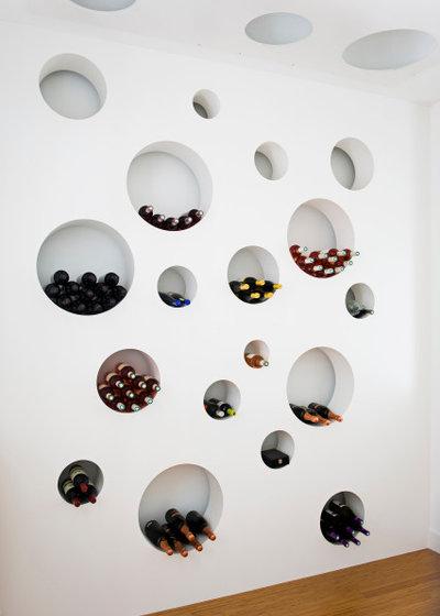 Industrial Wine Cellar by Teresa Sapey + Partners