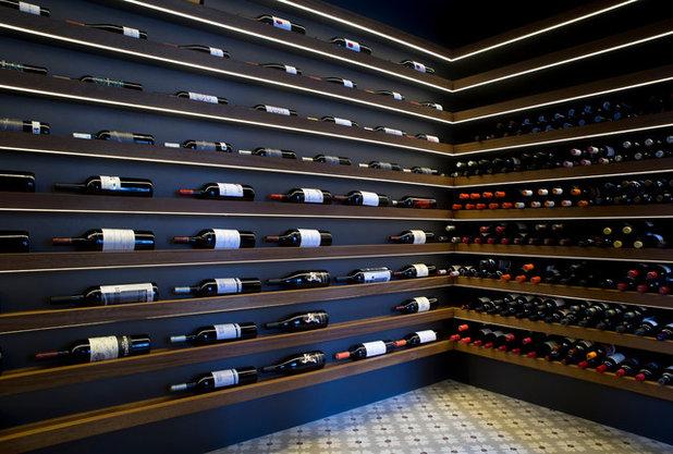Contemporary Wine Cellar by Pascuals Design